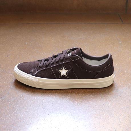 CONVERSE CONS ONE STAR PRO OX 167933C  DARK ROOT/EGRET/EGRET