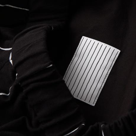 S.F.C WIDE PANTS (Check) Black / White Check【SFCFW21P03】(N)