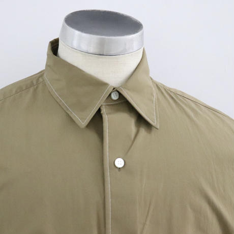 UNITUS(ユナイタス) SS20 Stiched Work Shirt  Beige【UTSSS20-S06】(N)