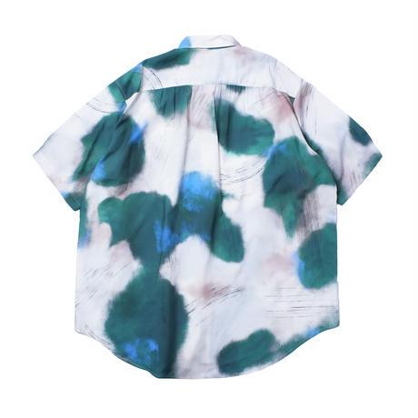 UNITUS(ユナイタス) Super Large Half Sleeve Shirt (Brush Camo) Earth Green【UTSSS21-S06】(N)