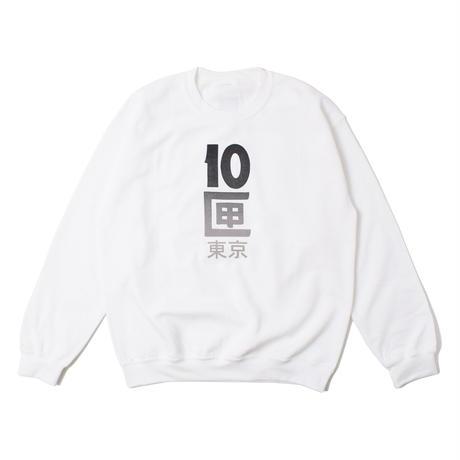 TENBOX 10匣東京 CREW WHITE(N)