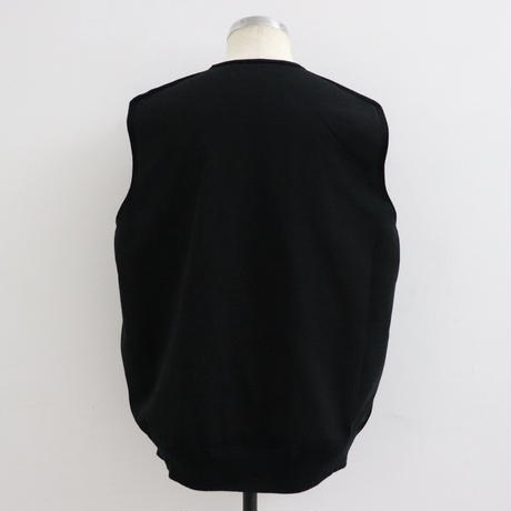 CREPUSCULE クレプスキュール  wholegarment VEST【2001-009】 Black(N)