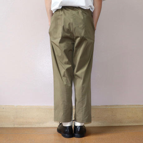 UNITUS(ユナイタス) SS19 Center Darts Easy Pant Khaki【UTSSS19-P05】(N)