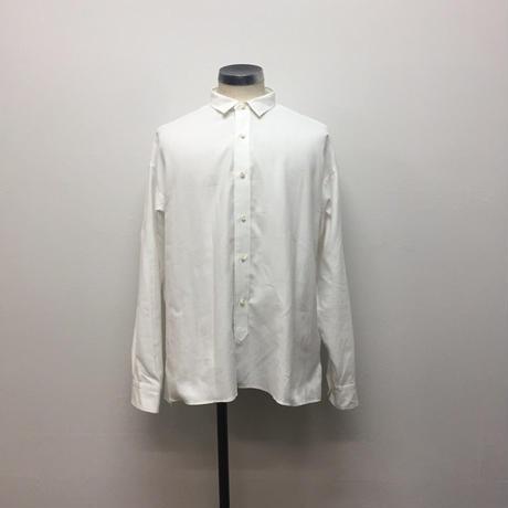 UNITUS(ユナイタス) FW18 A Line Shirt  White【UTSFW18-S04】(N)