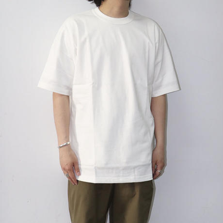EASTFAREAST(イーストファーイースト) MODEL008 SHORT SLEEVE TEE WHITE(N)