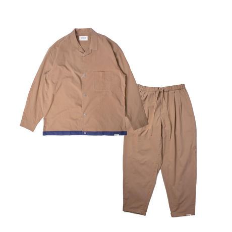 "NOWHAW ノウハウ  ""sen"" pajama beige【P-S365-H】(N)"