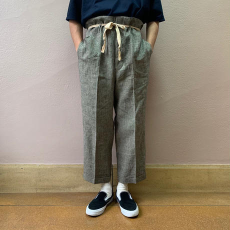 UNITUS(ユナイタス) SS19 Railroader Pant Black Houndstooth【UTSSS19-P03】(N)