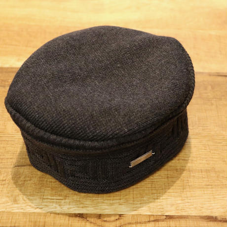 SOLARIS HATMAKERS & Co.  COTTON AFRIACAN CAP ZAMUNDA/BCHARCOAL【SH19SS-02】(N)