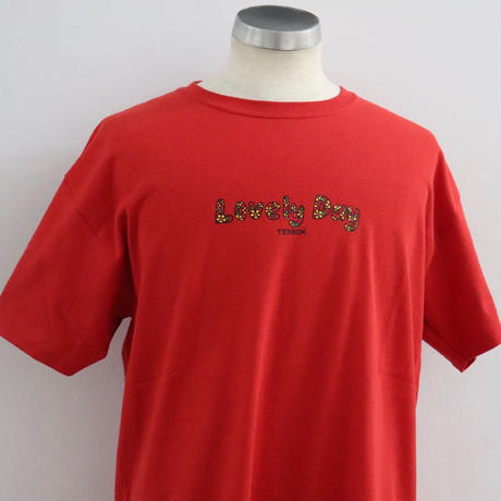 TEN BOX(テンボックス) BRODIE LOVELY DAY TEE RED