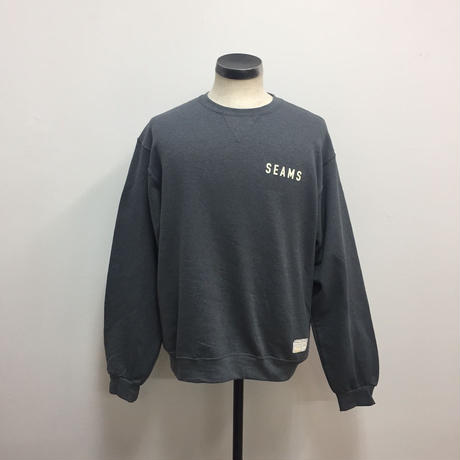 Seams Crew Fleece Charcoal Heather