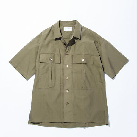 UNITUS(ユナイタス) SS17 Military Shirts Olive