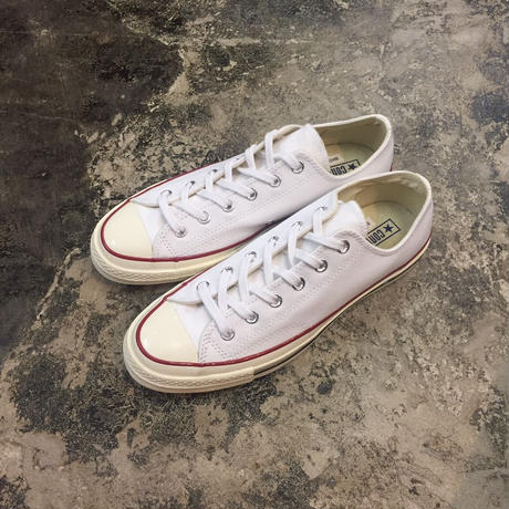CONVERSE  コンバース  CHUCK TAYLOR ALL STAR '70-OX  149448C WHITE/RED/BLACK CT70  三ツ星(N)