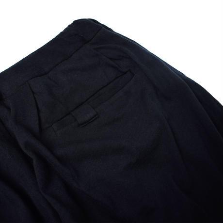 "NOWHAW ノウハウ  Twilight ""W face"" loose long pants black【P-TW26-O】(N)"