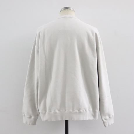 CREPUSCULE クレプスキュール  SWEAT【2001-007】Ivory