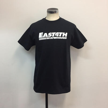 (C) EAST 4TH LOGO TEE(Black/Wht)