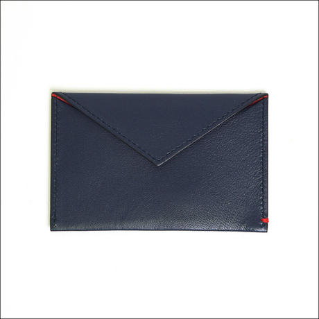 【SALE】LEON FLAM(レオン フラム)SIMPLE CARD CASE Blue Dark Blue