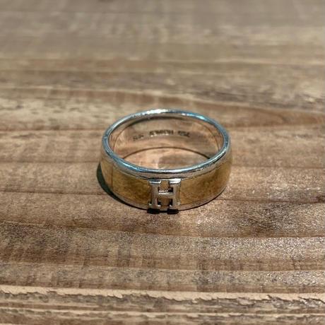 Hermès Vintage(エルメス ヴィンテージ)Stering Silver & 18k Gold Ring【19SS_3VH07】(N)
