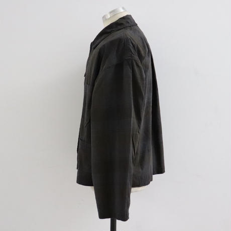 ChahChah チャーチャー CC AGING COVERALL BLACK CHECK【CC20SS-CJK-01】