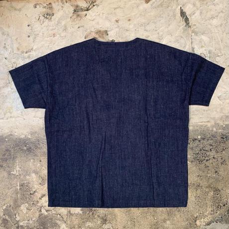 UNITUS(ユナイタス) SS17  Denim Cloth T Shirts Indigo 【UTSSS17-S07D】