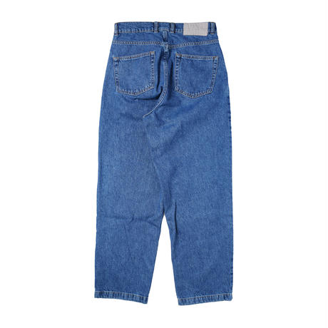 mfpen(エムエフペン) BIG JEANS WASHED BLUE【SS21-38】(N)