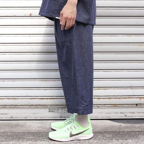 "NOW HAW ノウハウ  ""zen"" pajama  denim【P-S309-H】(N)"