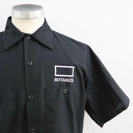 BOTANIZE ボタナイズ WORK SHIRTS BLACK(N)