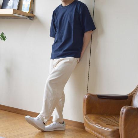 度詰め天竺配色ステッチBIG-T 0703711-10(ホワイト)