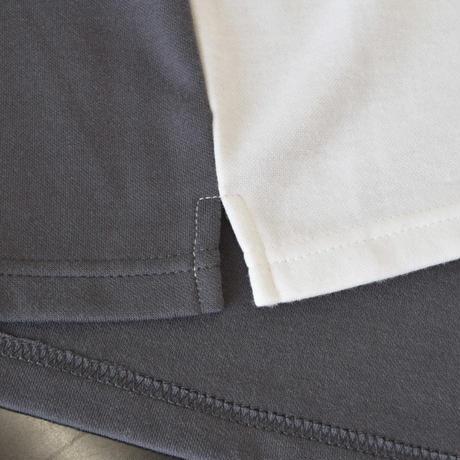 布帛ポケット付きクルーネックBIGT 0403302-20(オフホワイト)