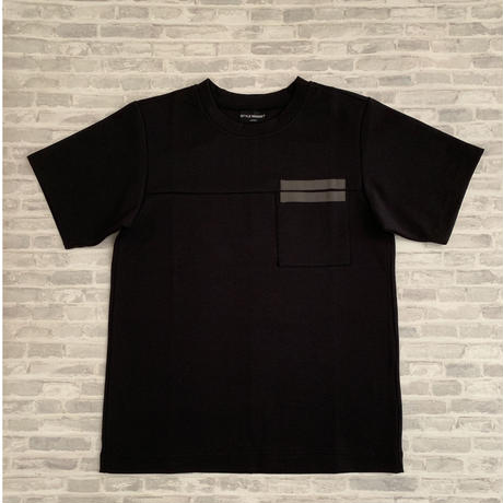 RIBON-TEE / BLACK