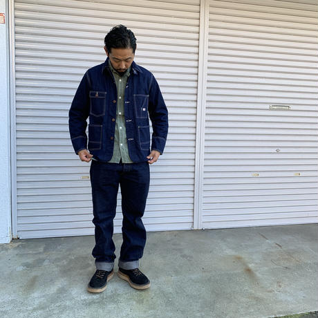 TCB jeans TCB TABBYS JACKET 10oz DENIM