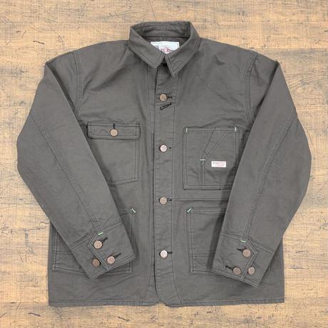 TCB jeans TCB TABBYS JACKET Charcoal Grey Duck