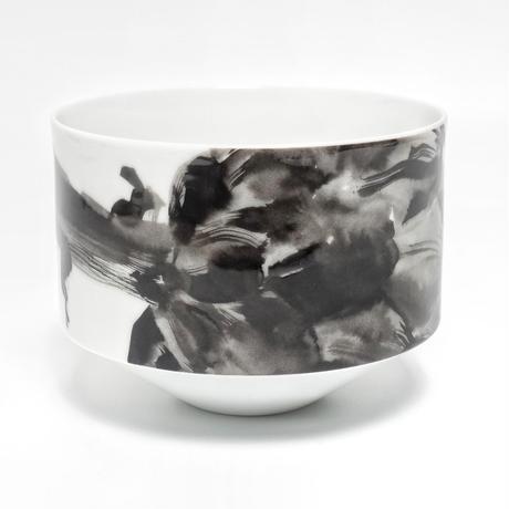 hakuji 白磁 碗 -アーティチョーク|White Porcelain bowl -Artichoke