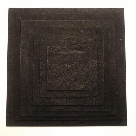 Ogatsuishi/雄勝玄昌石 − Plate /平皿 90角