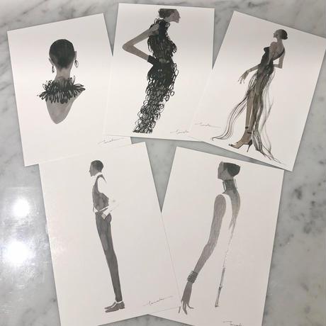 tamaki ogata post card set 2