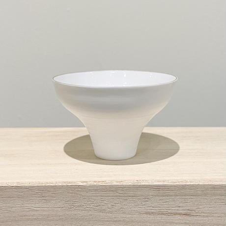 Egg Shell SAKE CUP SET in Paulownia Wood Box / エッグシェル盃セット桐箱入り