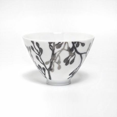 hakuji 白磁 小付け -蕾 White Porcelain Kozuke-Small Bowl/Bud
