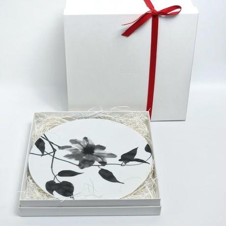 hakuji 白磁大皿 -チューリップ |White Porcelain plate L-Tulip