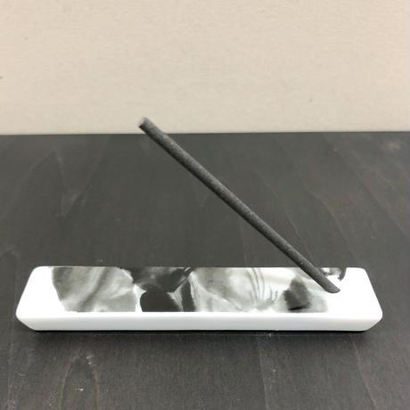 hakuji/香立てセット_アーティチョーク/porcelain incense Set_Artichoke