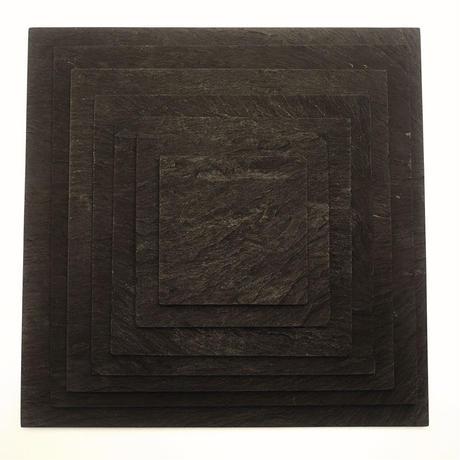 Ogatsuishi/雄勝玄昌石 − Plate /平皿 210角(廃番/販売終了)