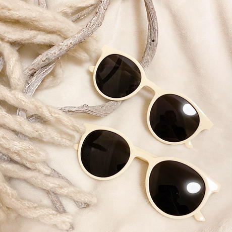 Ivory natural sunglasses