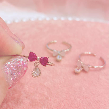 RIBBON RING♡