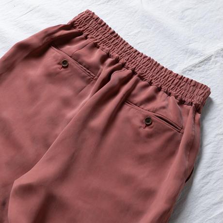 FIBRIL SATIN CUPRO RELAX EASY PANTS .002