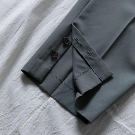 WOOL GABARDINE TAPERED PANTS .002