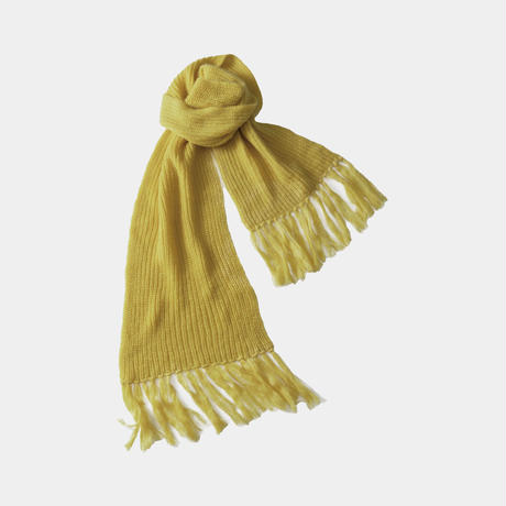 【YELLOW】LOW GAUGE MOHAIR STOLE .004