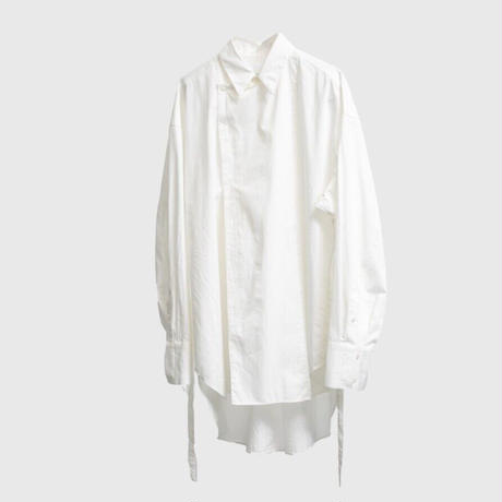 DOUBLE BREASTED BELTED SHIRT .003