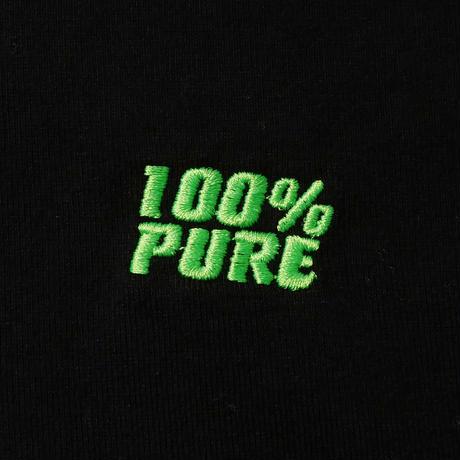 "100% PURE SWEAT SHIRT TEE ""NEON GREEN"""
