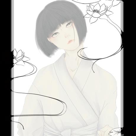 【幽霊春画】パーカーWH
