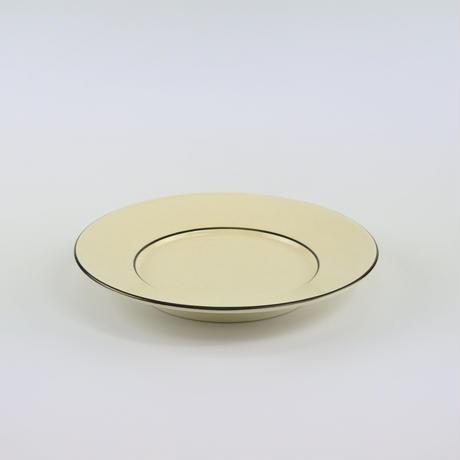 CHIN JUKAN POTTERY/Pasta Dish(黒釉)