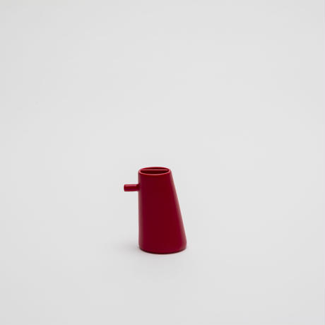 2016 Shigeki Fujishiro: Soy Sauce Pot / Red