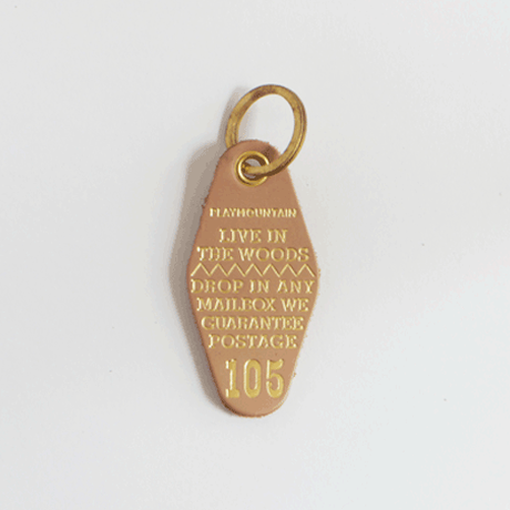 """LIVE IN THE WOOD"" Key Holder"